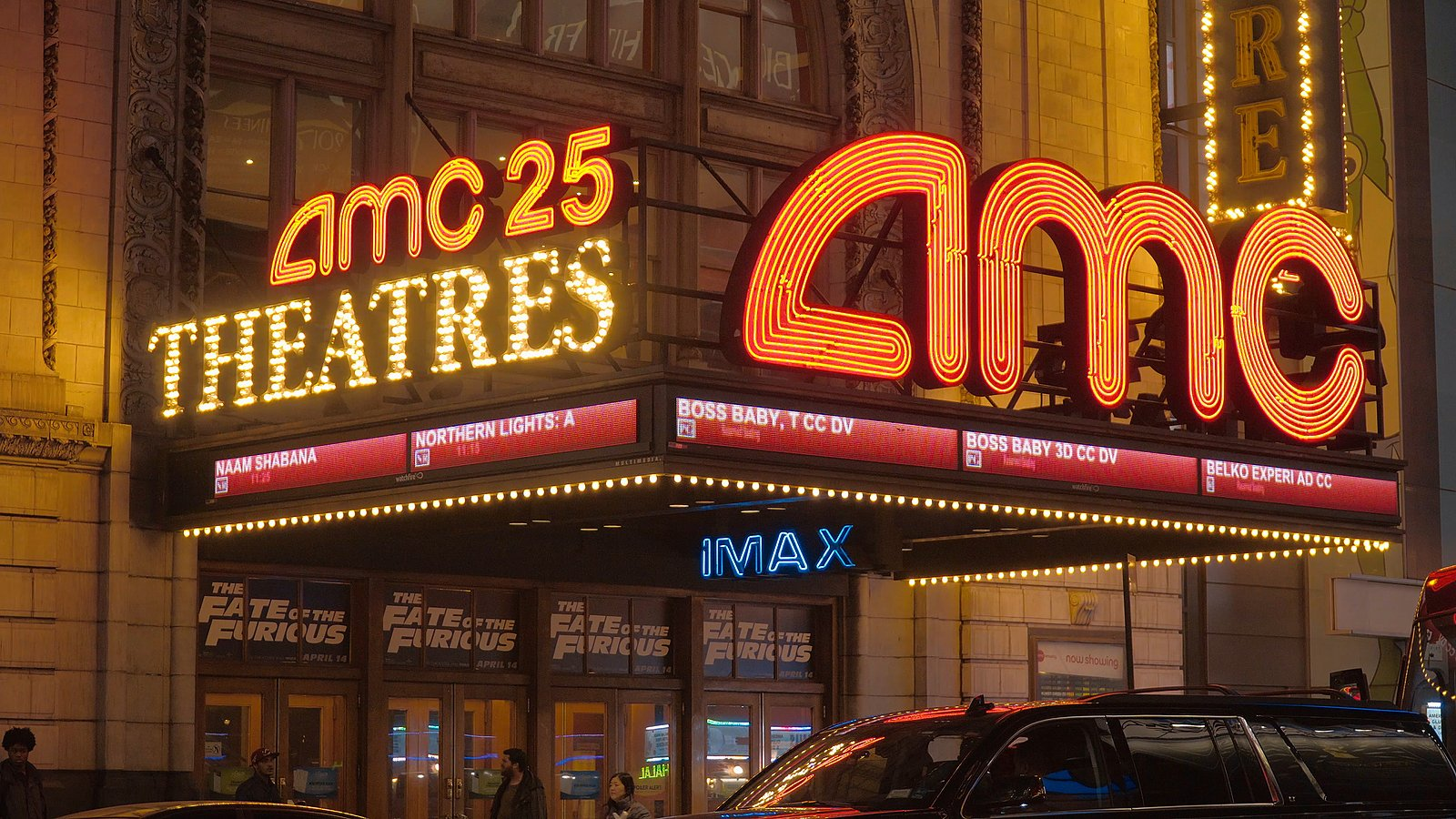 AMC Theatres Universal Pictures Deal