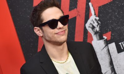 Pete Davidson at The Dirt premiere