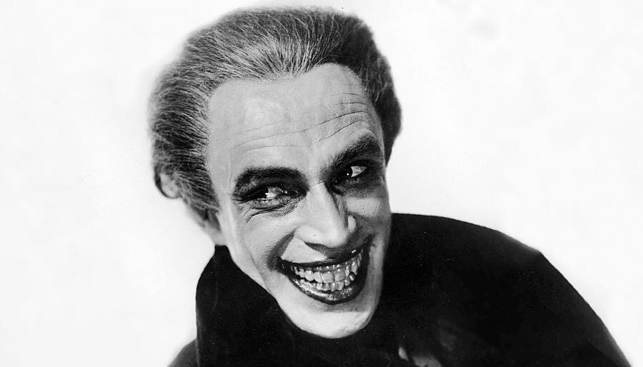 Conrad Veidt as Gwynplaine from 1928's 'The Man Who Laughs,' the Inspiration for Joker