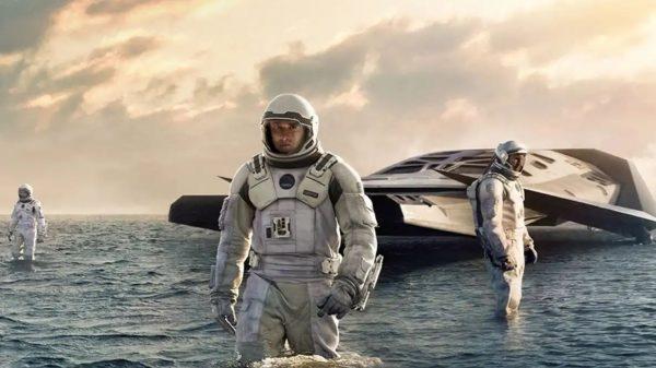 Interstellar Ticking Water Planet