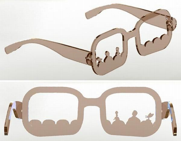 Mystery Science Theater 3000 Glasses