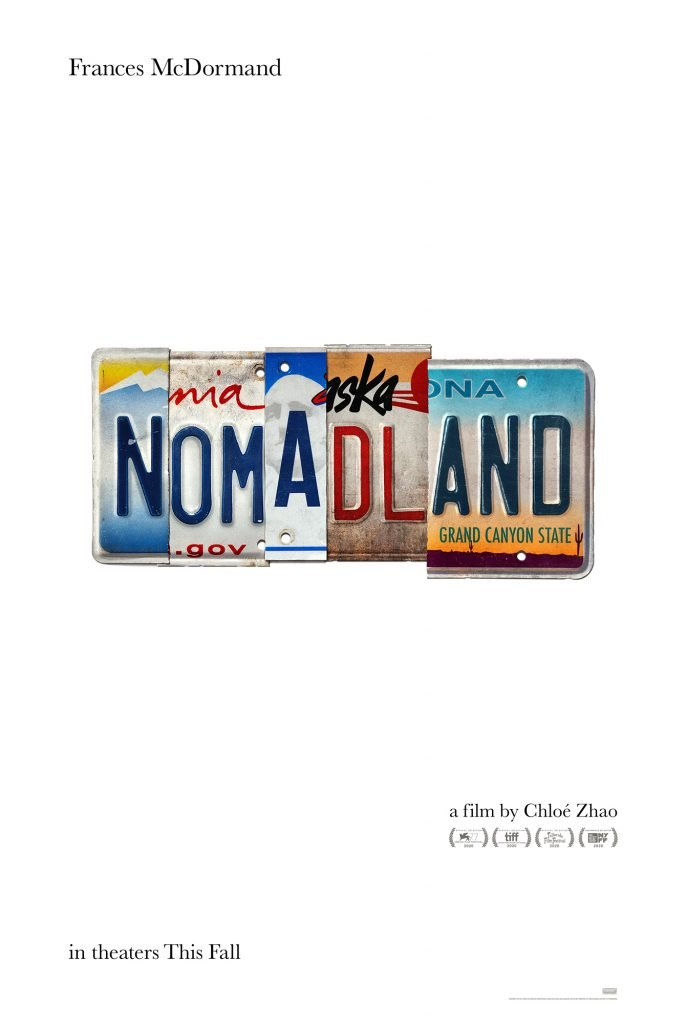 Official Poster For Nomadland Starring Frances Mcdormand Debuts Dec 4 Metaflix
