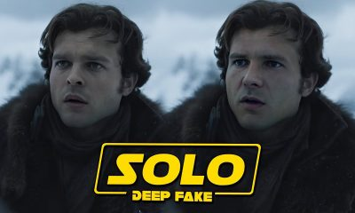 Solo Star Wars Harrison Ford DeepFake