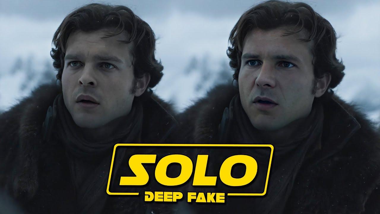 Solo Star Wars Harrison Ford DeepFake