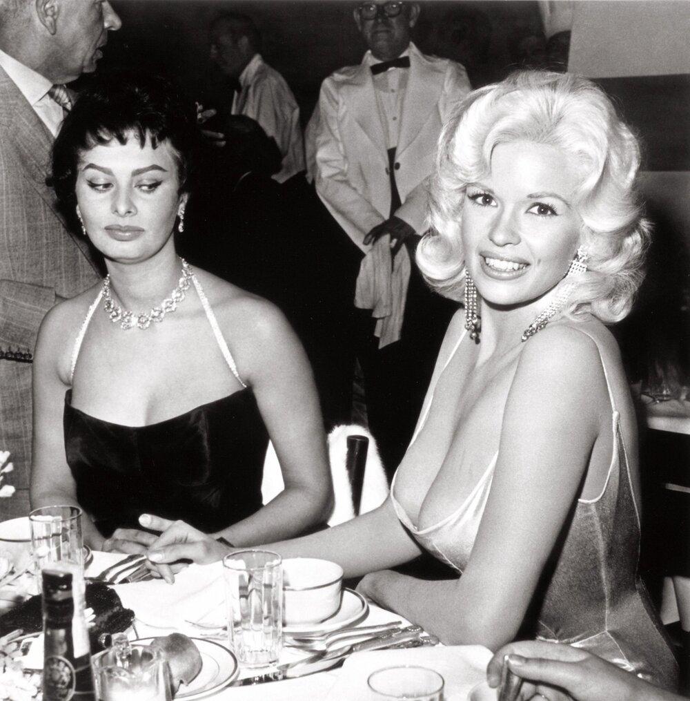 Sophia Loren Jayne Mansfield Romanoffs Restaurant 1