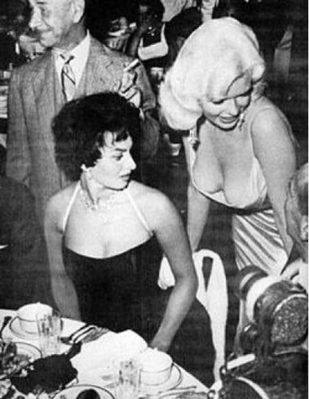 Sophia Loren Jayne Mansfield Romanoffs Restaurant 2