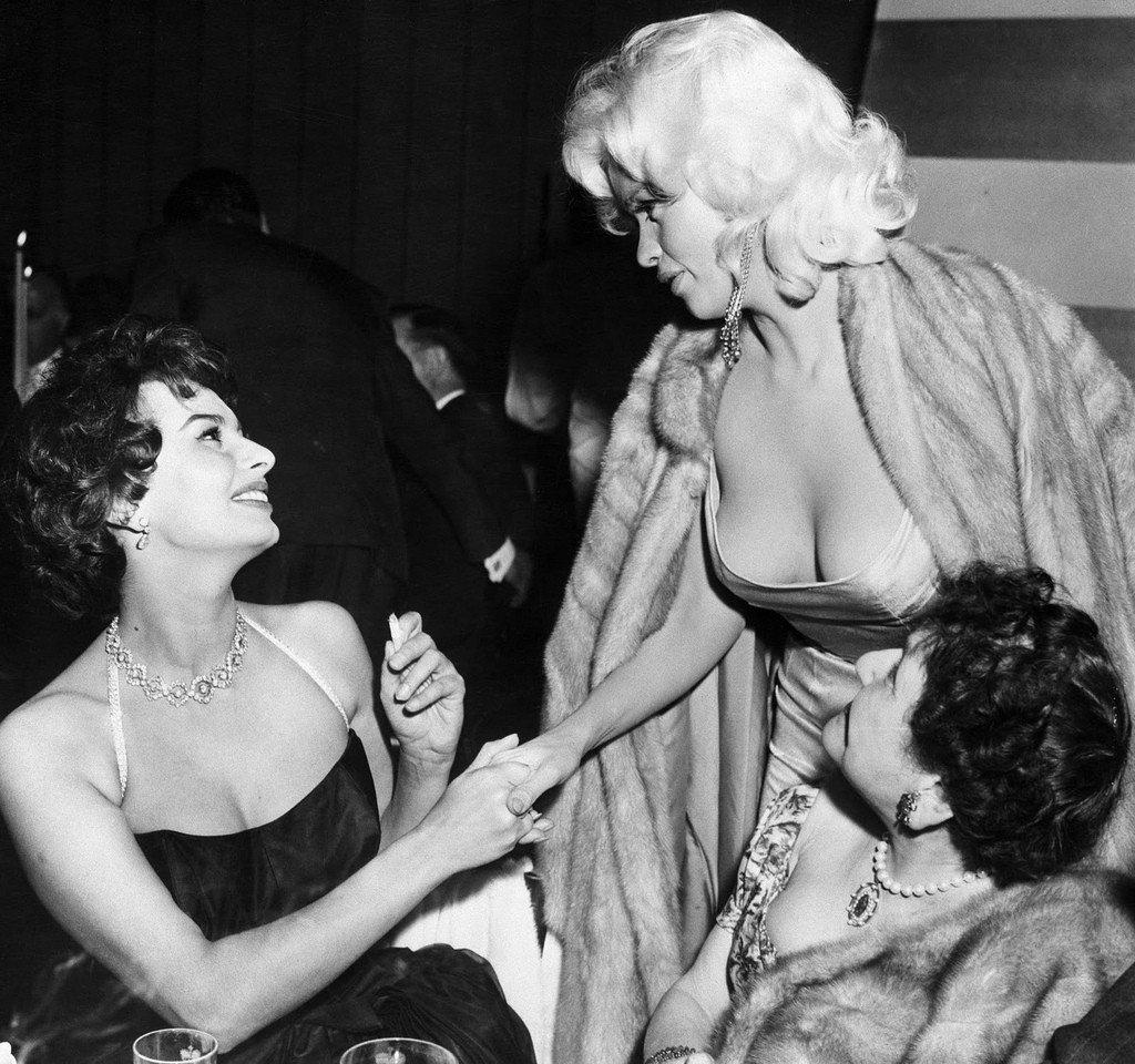 Sophia Loren Jayne Mansfield Romanoffs Restaurant 3
