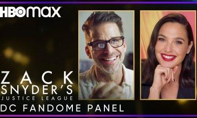 Zack Snyder DC Fandome Panel