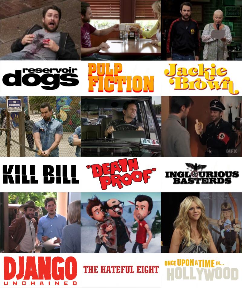 Always Sunny Quentin Tarantino Crossover