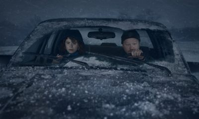 "Jessie Buckley and Jesse Plemons in ""I'm Thinking of Ending Things"""