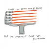 Lightsaber 5 Bladed Lightshaver by TwistedDoodles