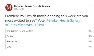 Premiere Poll 9-10-20