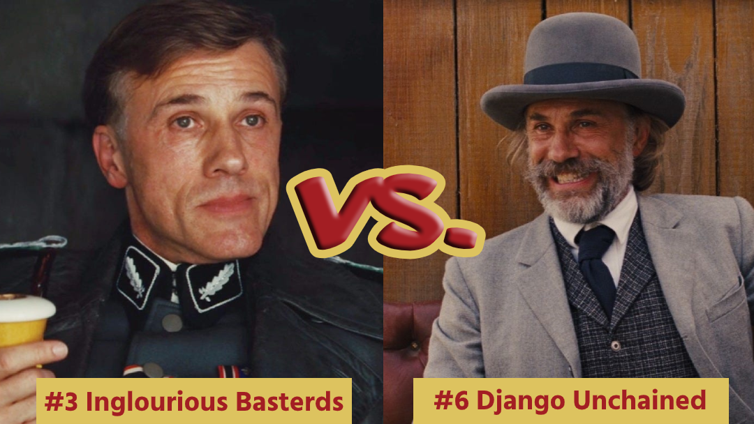 Battle Royale with Cheese Inglourious Basterds VS Django Unchained