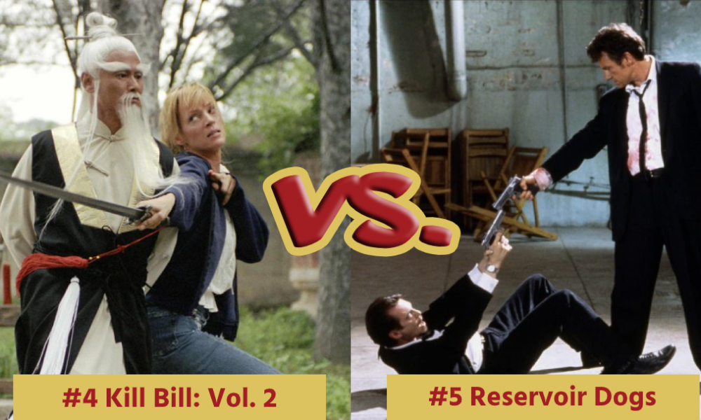 Battle Royale with Cheese Kill Bill 2 VS Reservoir Dogs