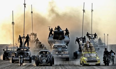 Mad Max Fury Road Mr Bean