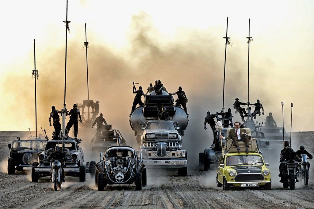 Mad Max Fury Road Mr Bean