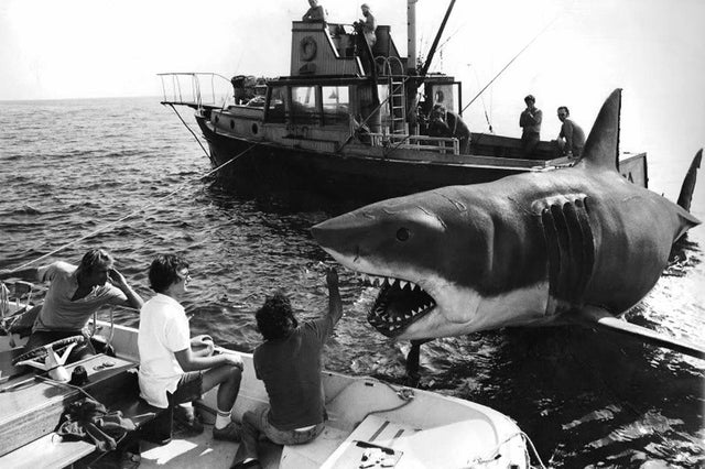 Jaws behind the scenes
