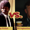 Battle Royale with Cheese Pulp Fiction Vs Inglourious Basterds