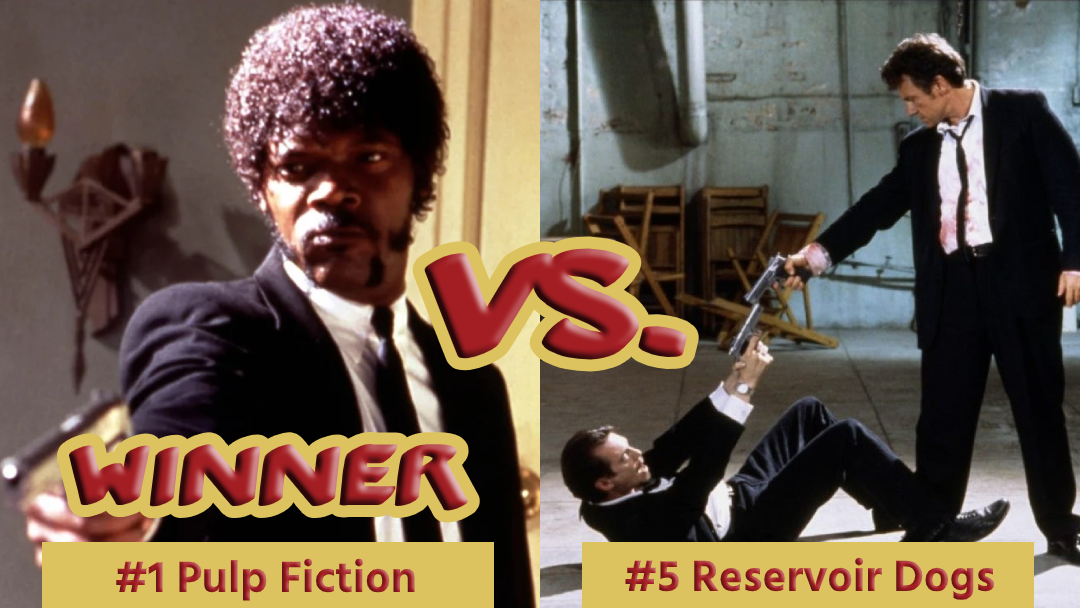 Battle Royale with Cheese Pulp Fiction Vs Reservoir Dogs Winner