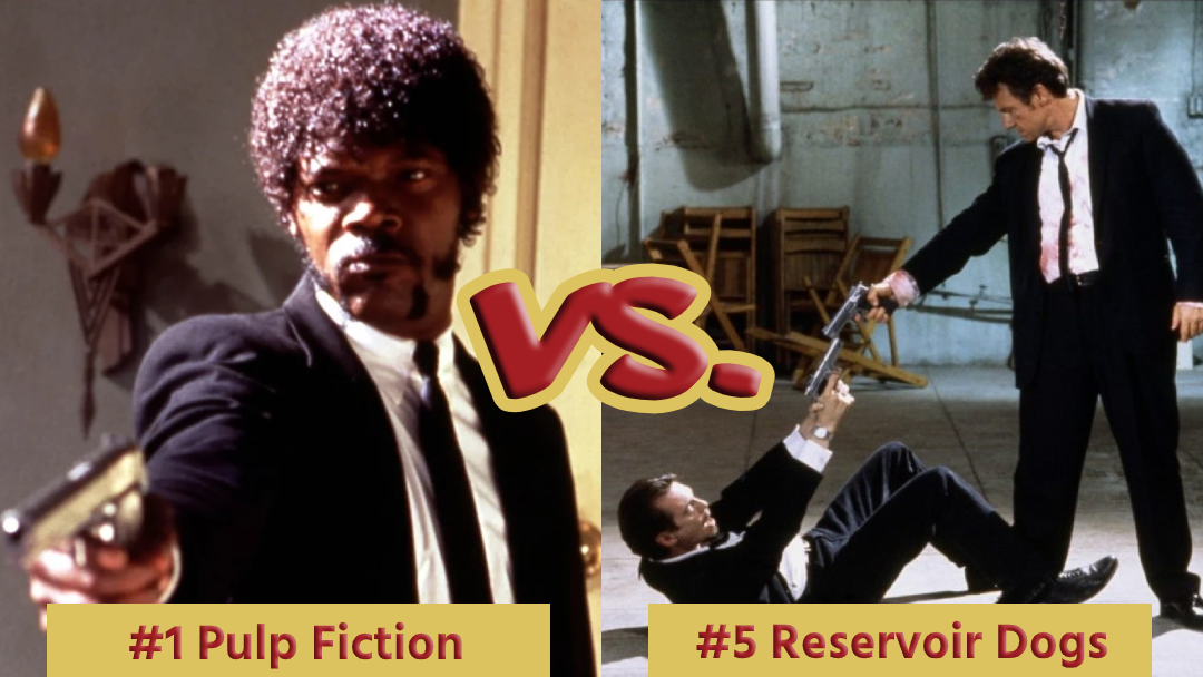 Battle Royale with Cheese Pulp Fiction Vs Reservoir Dogs