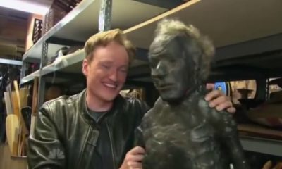 Conan Visits Universal Prop Warehouse
