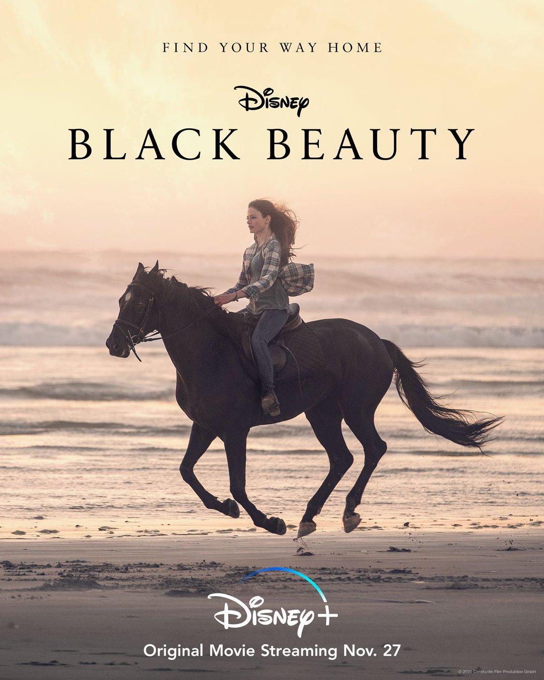 Disney Black Beauty Movie Poster