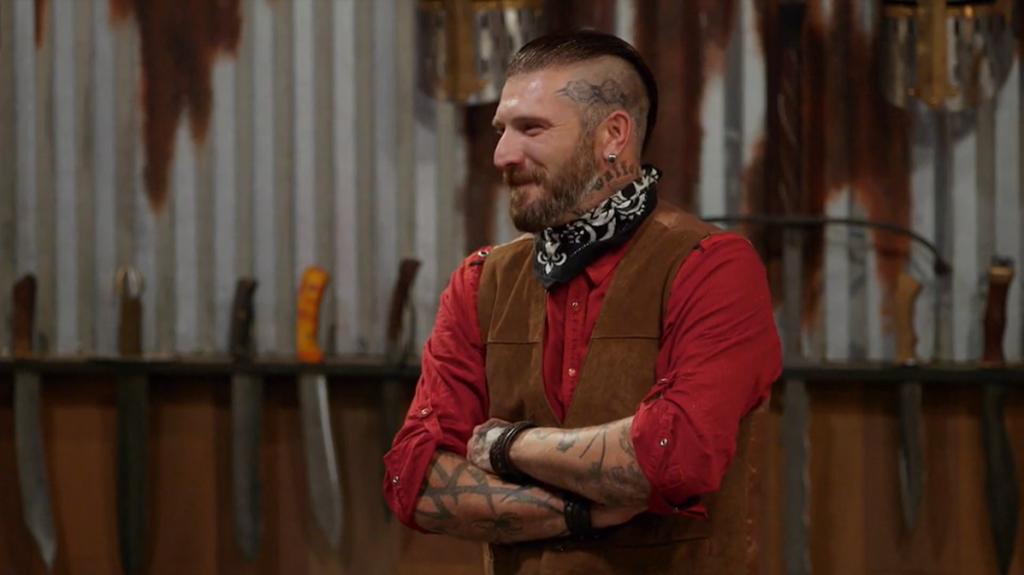 Forged In Fire Brandon Rader Waffen Tattoo