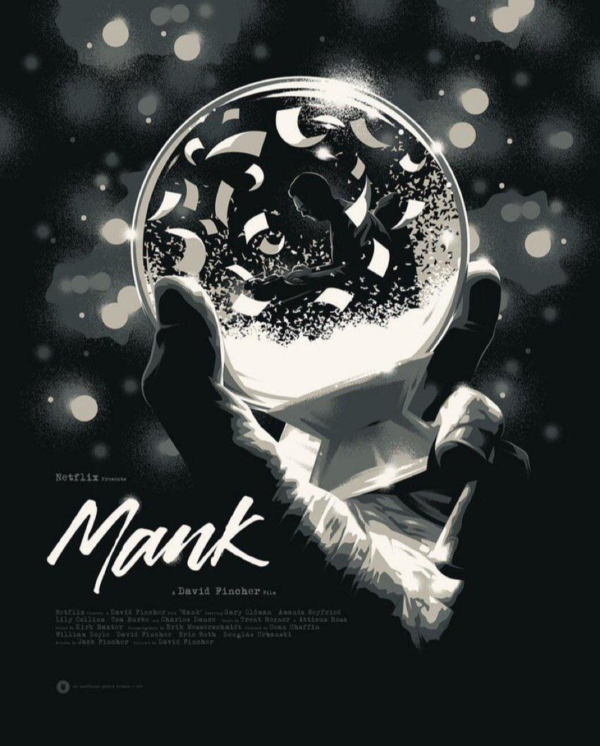 New Poster for David Fincher's 'Mank' In Theaters Nov. 13 - Metaflix