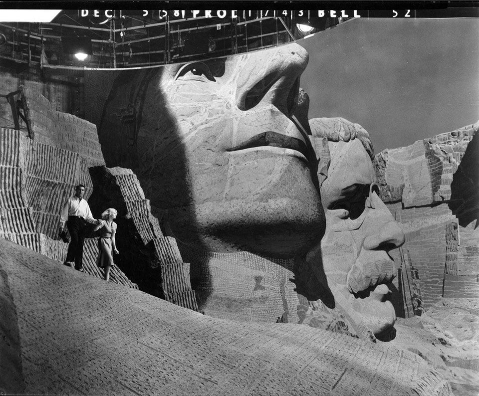 North by Northwest Mount Rushmore Set