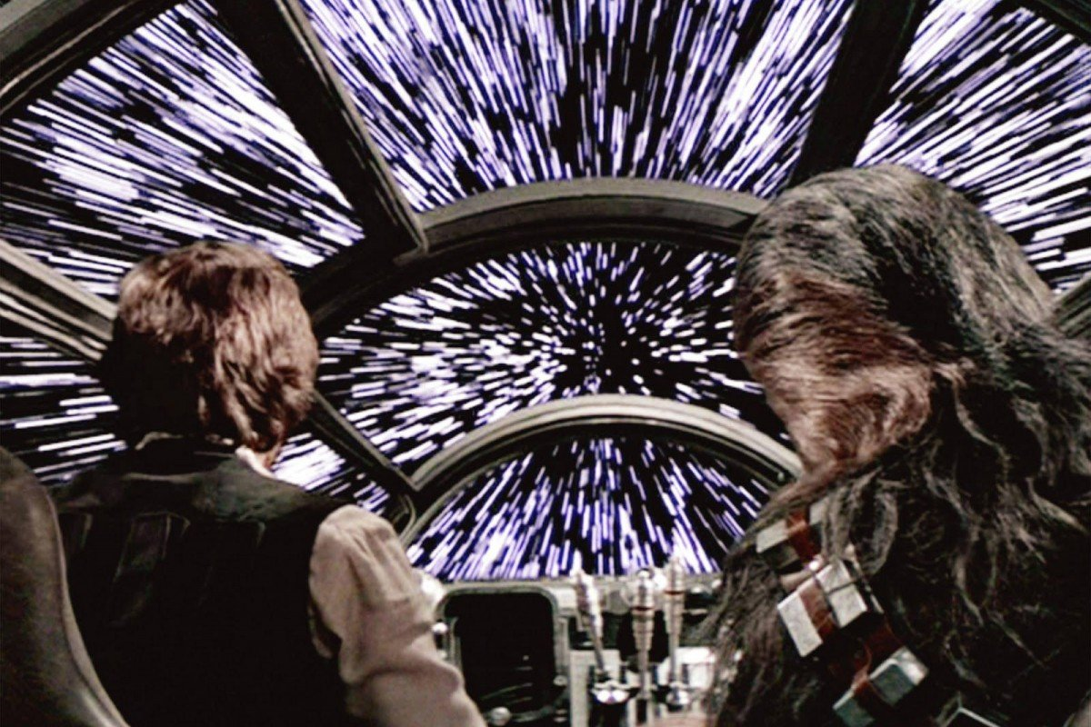 Ben Burtt Millennium Falcon Hyperspace