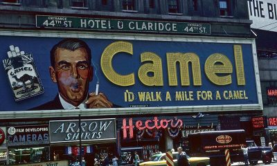 Id Walk a Mile for a Camel Billboard