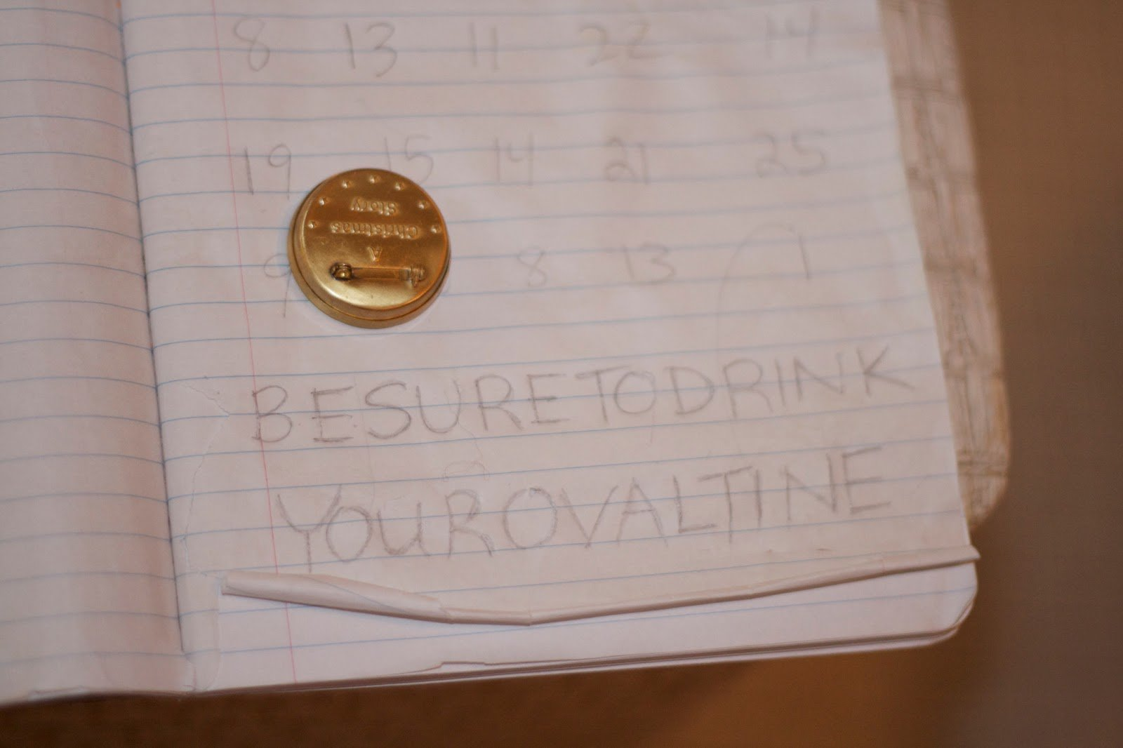 Zodiac Killer Drink Your Ovaltine