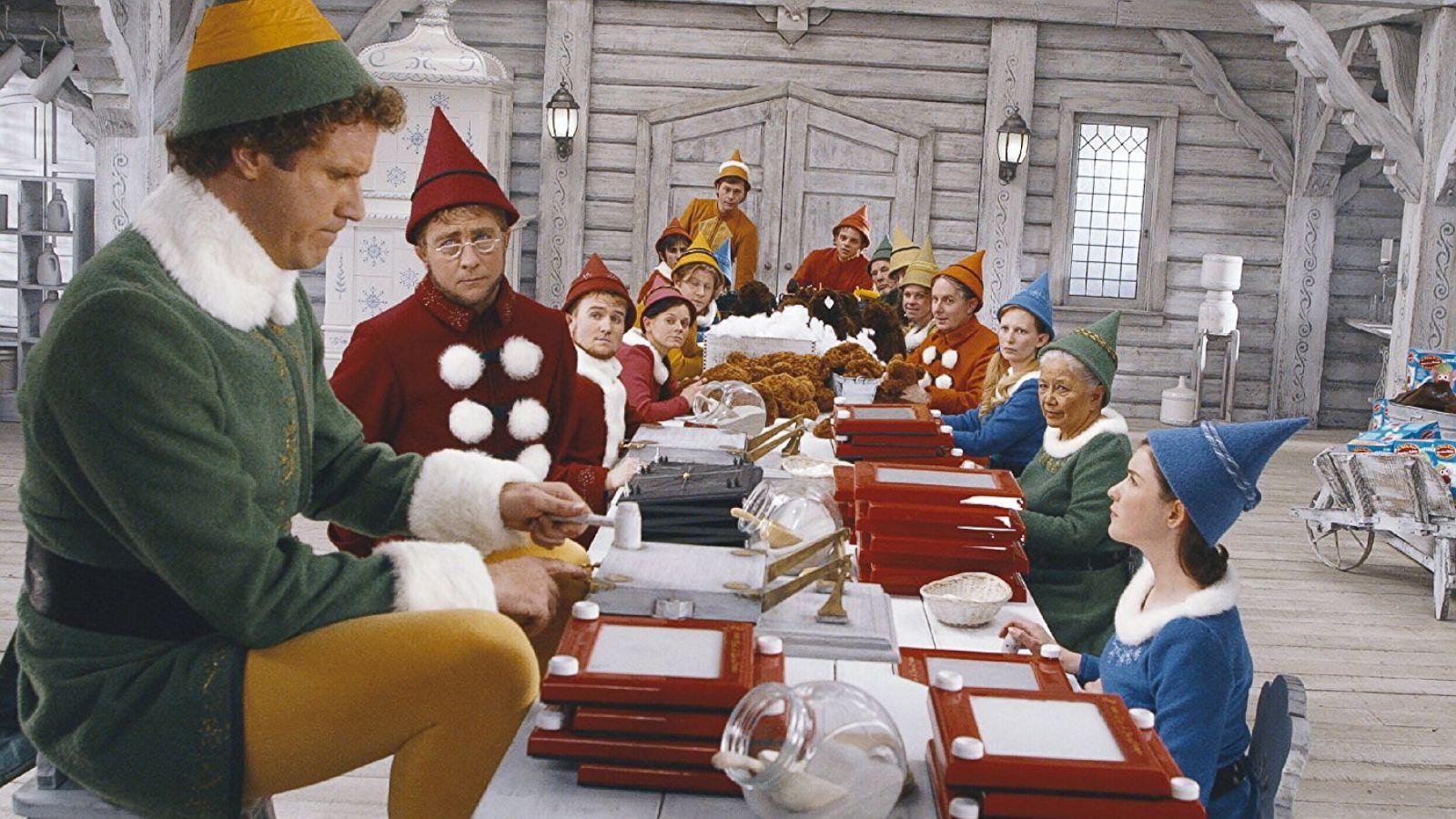 Will Ferrell in movie Elf