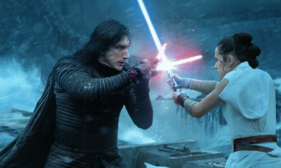 Daisey Ridley Adam Driver Star Wars The Rise of Skywalker