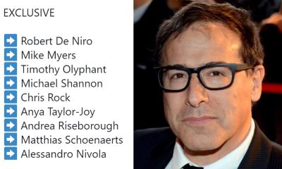 David O Russell A List Cast