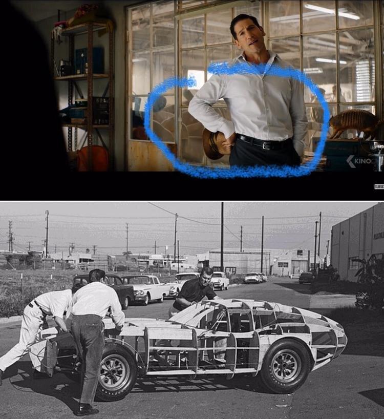 'Ford v Ferrari' Shelby Daytona Coupe