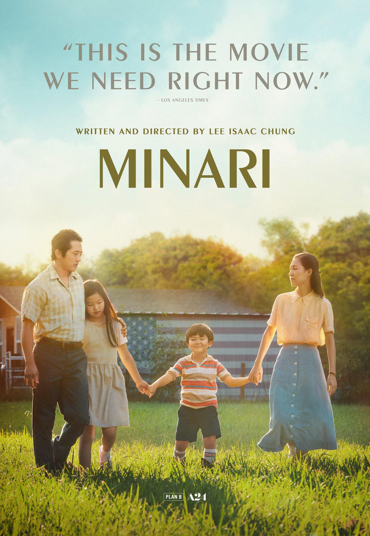 Minari Movie Poster A24