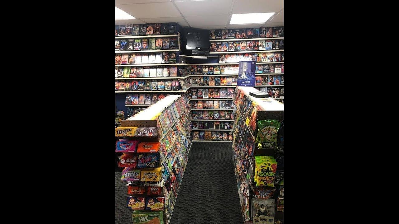 Nostaglia Home Video Store