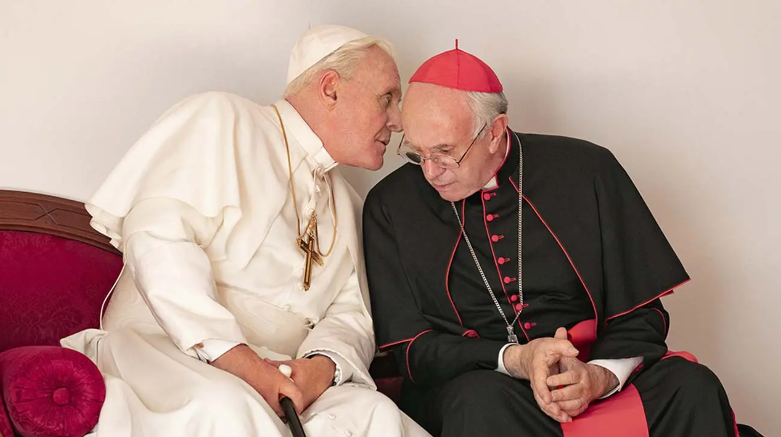 The Two Popes Whistling ABBA