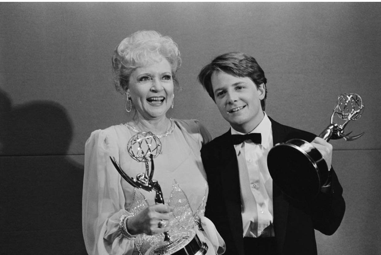Betty White, Michael J. Fox, Emmys