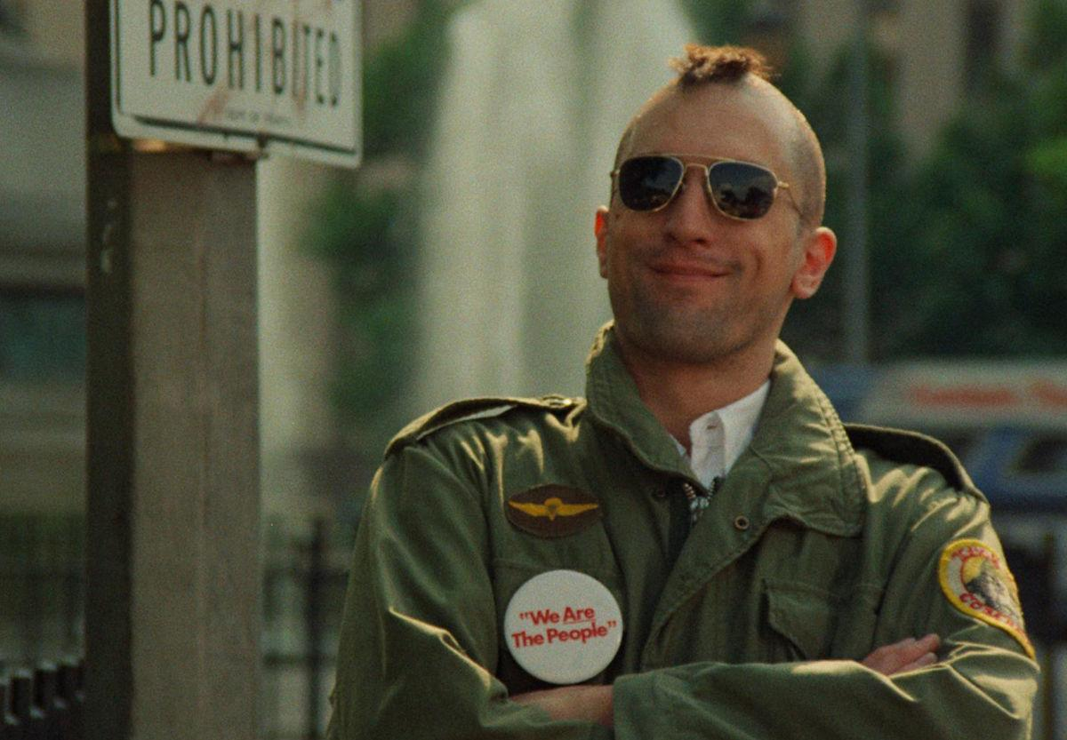Taxi Driver Bickle Mohawk