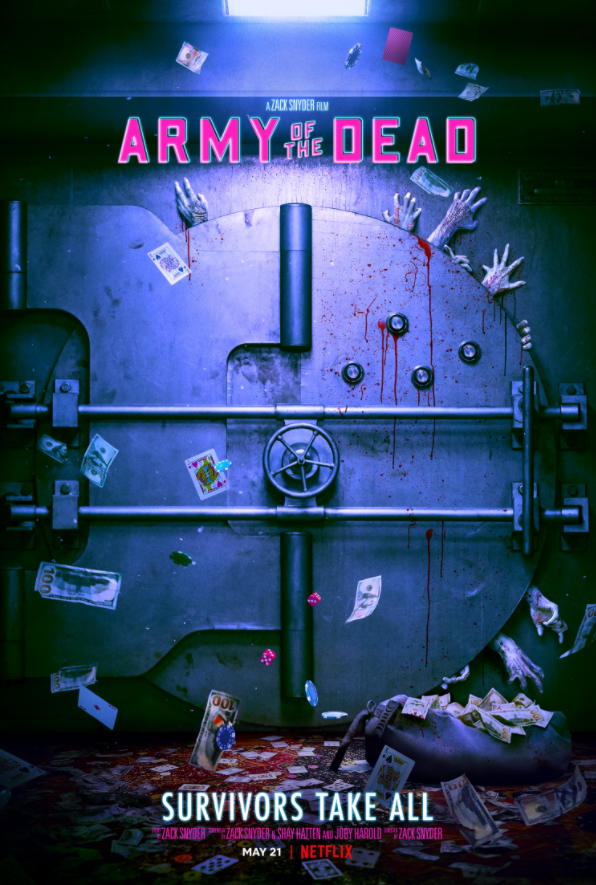 Zack Snyder Army of the Dead Poster