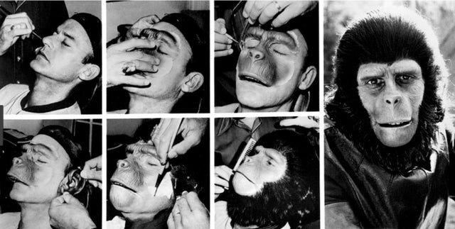Planet of the Apes Prosthetics