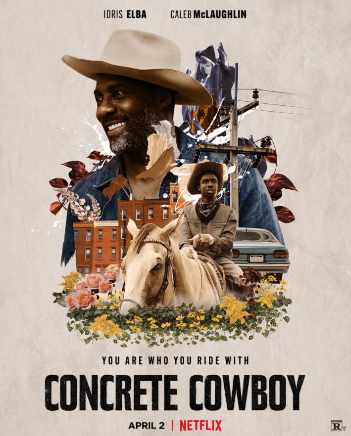 Concrete Cowboy Movie Poster