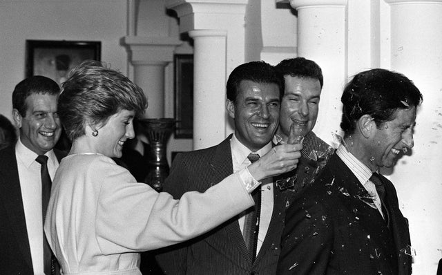 Princess Diana Breaks Bottle Prince Charles