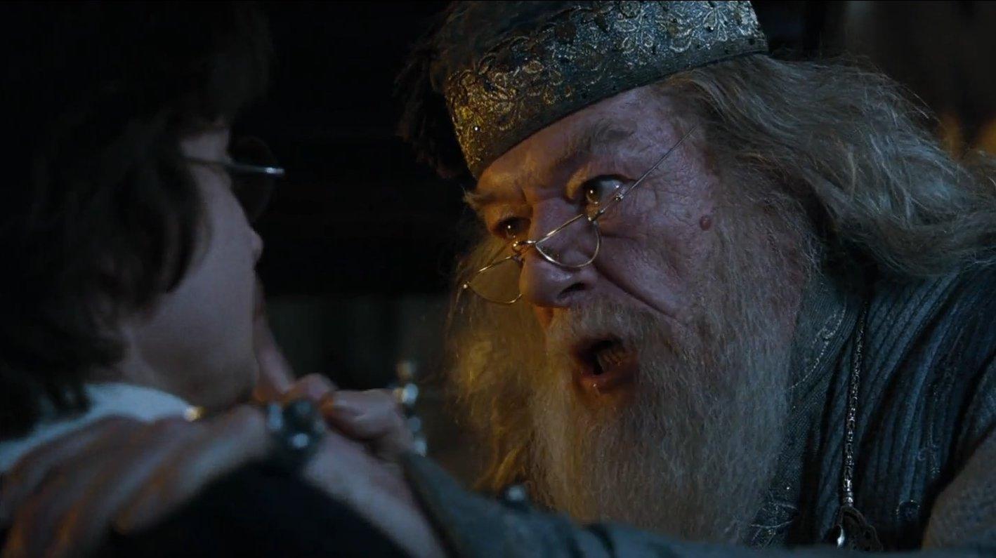 Dumbledore Asked Calmly