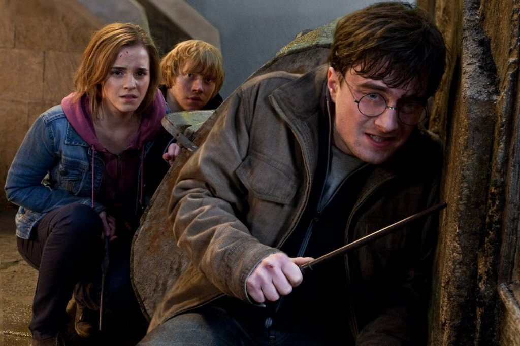 Deathly Hallows Part 2 Harry Potter (rank: 1 for real)