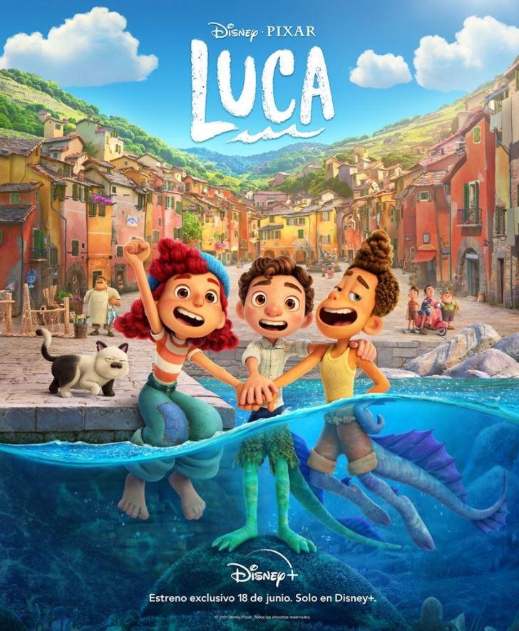 Disney Pixar Luca Poster