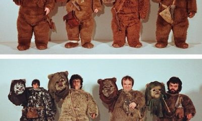 Ewok Actors Costume Test