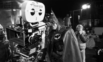 Michael Keaton Batman BTS